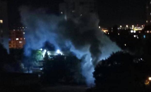 Взрив на военна димка в близост до детска градина в