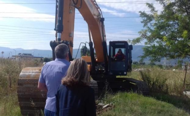 Първа копка на изграждането на локалните платна на пътя Пловдив