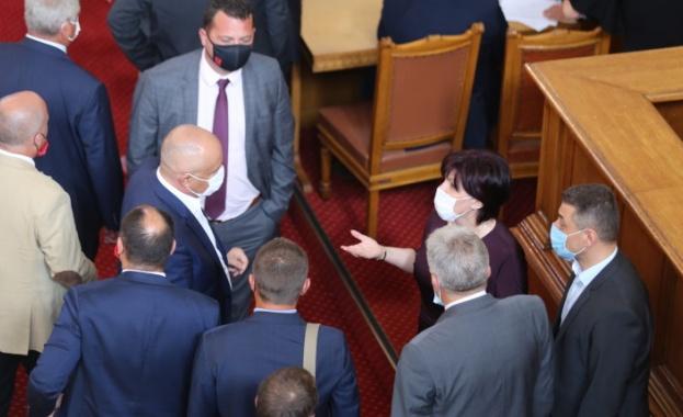 Извънредният парламентарен ден се провали