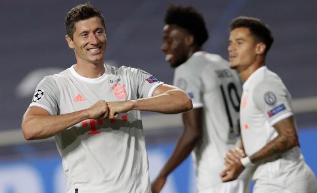 Отборът на Байерн Мюнхен разгроми Барселона с 8:2 в четвъртфинален