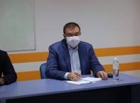 Посещение на проф. Костадин Ангелов в УМБАЛ КАНЕВ АД