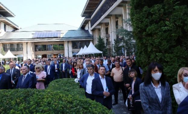 """На днешното Национално съвещание на прокуратурата в резиденция """"Бояна"""