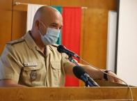 Със силни думи ген. Мутафчийски посрещна новия випуск военни лекари