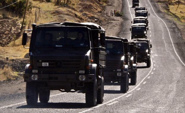 Турски и руски военнслужещи проведоха второ съвместно учение в Сирия