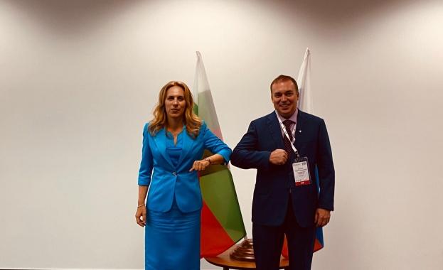Вицепремиерът Николова: Ползотворно ще е да задълбочим сътрудничеството си с Руския съюз на туриндустрията
