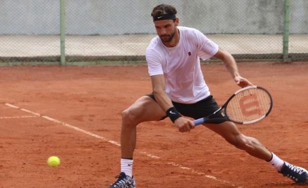 Григор Димитров отново на корта в Рим