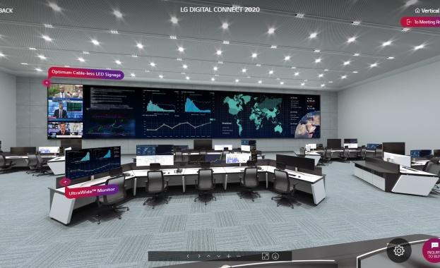 Открийте най-новата технология сред дигиталните платформи с LG Digital Connect 2020