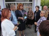 Румен Радев и Илияна Йотова откриха учебната година в Трекляно и Добромирка