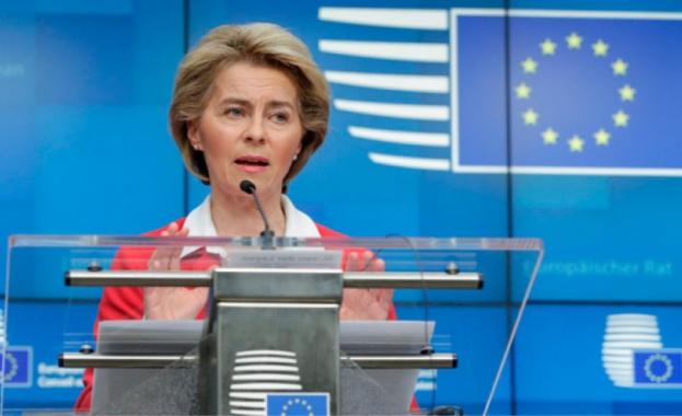 Урсула фон дер Лайен ще произнесе реч пред Европарламента