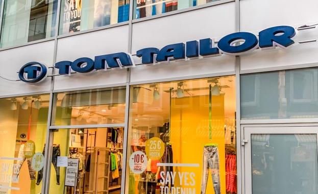 Затруднената финансово германска модна верига Том Тейлър (Tom Tailor) е