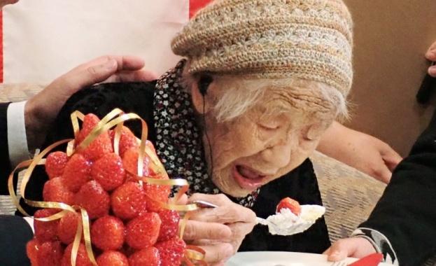 На почтената възраст от 117 години и 261 дни Танака