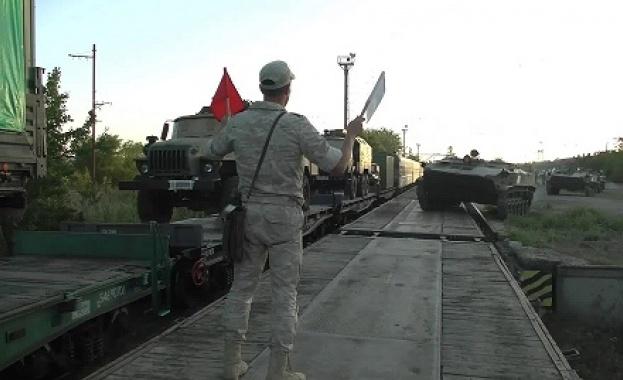 Русия провежда мащабни съвместни военни учения в Кавказ