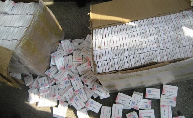 """36 384 таблетки от нерегистриран в България лекарствен препарат """"CLOMIPHENЕ"""