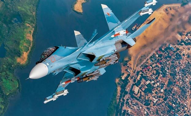 Самолет Су-30 се разби в Русия