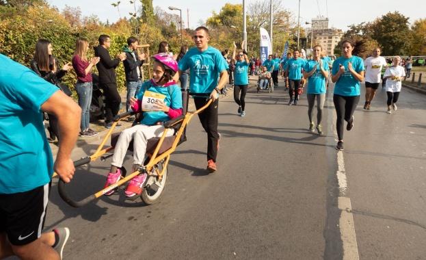 Бягане с кауза – включи се в Уиз Ейр София Маратон с отбора на ParaKids