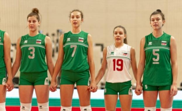 Националният отбор на България по волейбол за девойки под 17