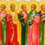 Св. мчци Трофим, Теофил и другарите им. Св. свщмчк Аполинарий, еп. Равенийски