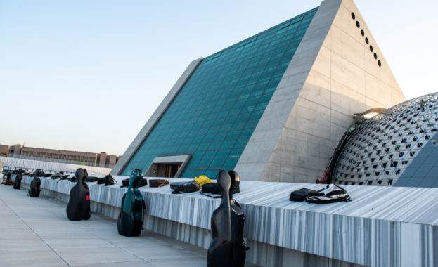 Анкара открива новата си супермодерна концертна зала за националния празник на страната