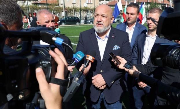 Министър Кралев: Противоепидемичните мерки за евромачовете са ясни и трябва да се спазват