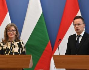 Посещение на Екатерина Захариева в Унгария