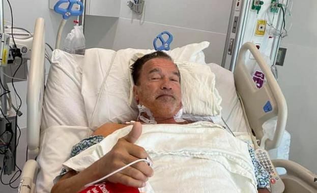 Арнолд Шварценегер е претърпял сърдечна операция в Кливланд, Охайо. Актьорът