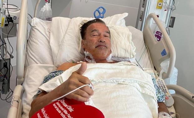 73-годишният американски актьор публикува в Инстаграм новини след операция на