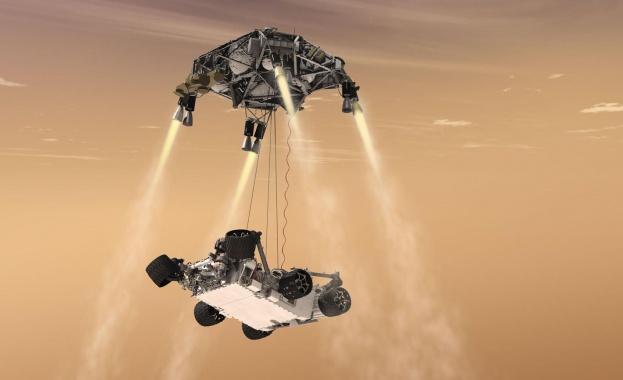 """Марсоходът """"Пърсивиърънс"""" ще превръща въглероден диоксид в кислород"""