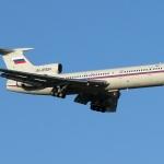 Единственият останал Ту-154 в Русия направи последния си полет