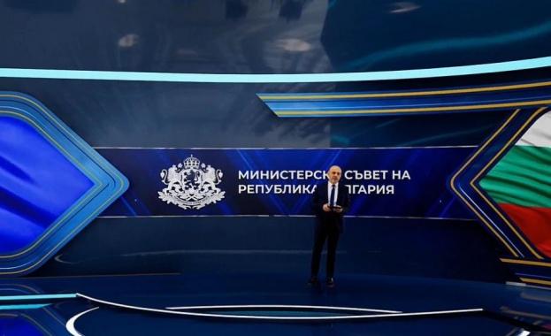 Томислав Дончев представи Националния план за възстановяване на България
