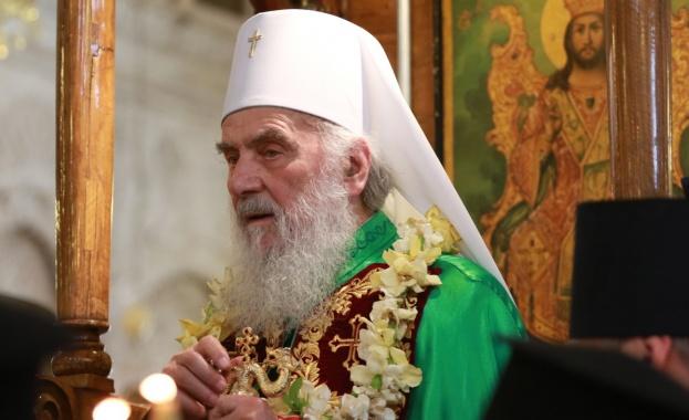 Сръбският патриарх Ириней  е в болница с усложнения от коронавирус