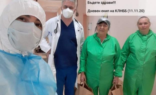 Доброволци даряват обяд за стотици медици