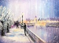 Коледно настроение от художничката Даниела Стойкова
