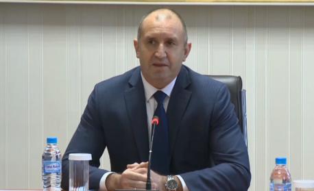 Радев: Не искам да мисля, че ще отидем на трети парламентарни избори тази година