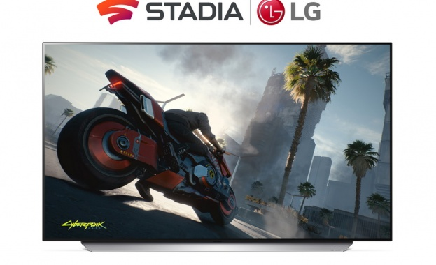 Смарт телевизорите LG ще поддържат Stadia  CLOUD гейминг към края на 2021 Г.