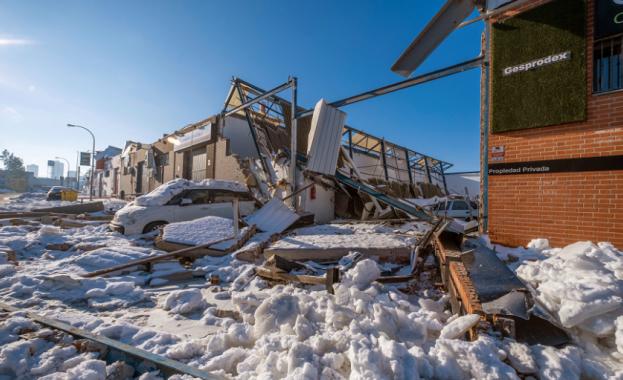 Студът в Испания е нанесъл щети за 70 млн. евро