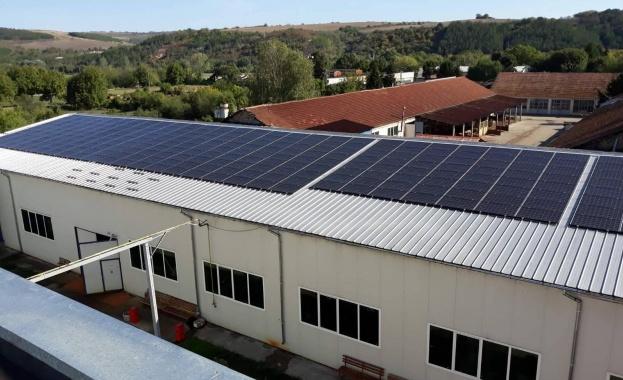 Модул АД гр. Бяла произвежда енергия от слънце