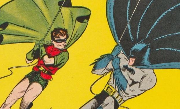 Комикс за Батман от 1940 г. беше продаден за рекордната