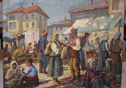 Иззеха 1418 картини от Васил Божков, сред тях шедьоври на Майстора и Нерон