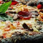 Черна пица стана хит на Халкидики