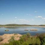 """Езерото в резервата """"Сребърна"""" замръзна"""