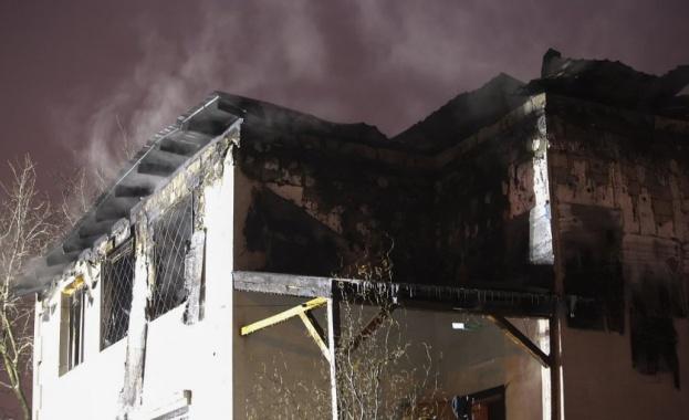 При пожар в дом за възрастни хора в Харков загинаха