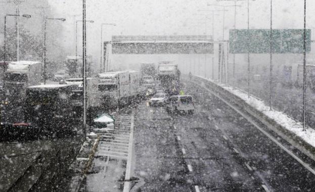 Проблеми в работата на обществения транспорт възникнаха в Гърция поради