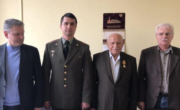 Русия връчи орден на български русофил