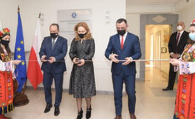 Николова откри българско туристическо представителство във Варшава