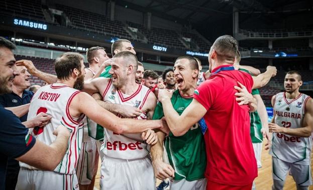 Баскетболният талант на България Константин Константинов, който преди дни записа