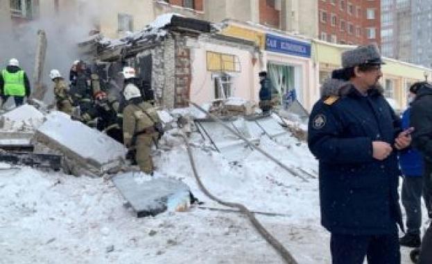 Експлозия разруши кафене в руския град Нижни Новгород, на 400