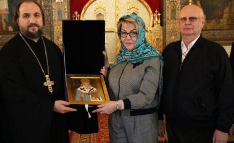 Новият посланик на Русия посети руската църква в София