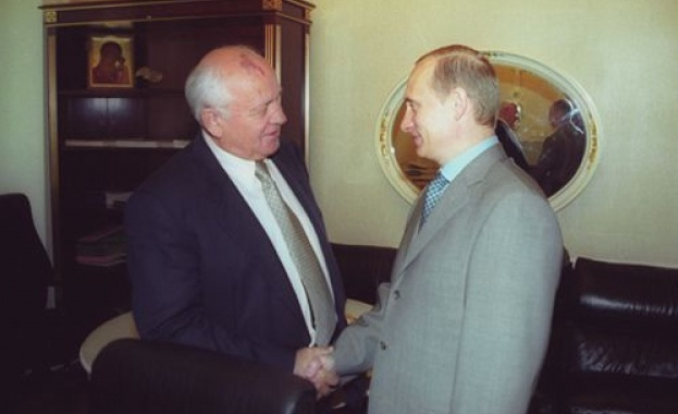Путин към Горбачов: Вие сте сред държавните дейци, повлияли на световната история