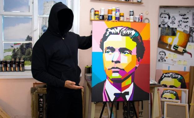 Анонимният артист NoName с нова творба за 3 март