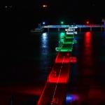 Бургаският мост свети в бяло, зелено, червено по повод 3 март